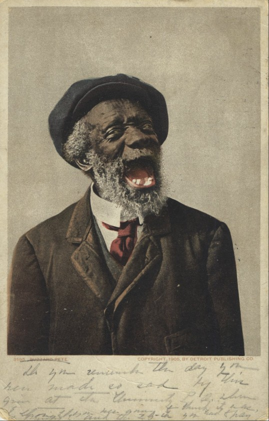 """Portrait of """"Buzzard Pete,"""" 1905 (University of Virginia Library Special Collections)"""